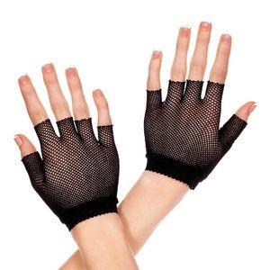 NWT Music Legs Women's Fishnet Wrist Length Warmer